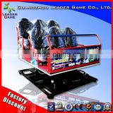 Leader Game 6 seats standard seat electric system 3dof/6dof 5d 7d 9d 12d cinema theater for sale with motion platform