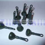 COATED GREEN SMOOTH BACK LEADS FOR CARP FISHING