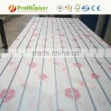 PVC Laminated MDF Grooved Board Aluminum Slatwall Panel