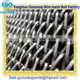 dutch metal wire mesh belt or chain link conveyor stainless steel flat wire chain drive belt