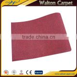 Red wedding use exhibition carpets velour polyester needle punch carpet