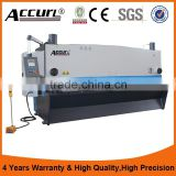 ACCURL High Quality MS8-6x3200mm Hydraulic Guillotine Shearing Machine with Germany ELGO P40 NC control System