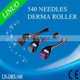 2015 factory direct wholesale micro needle skin rejuvenation 540 needles professional derma roller