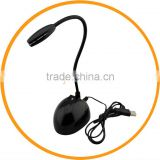 Flexible USB 2.0 Recording Mic Microphone for Desktop Laptop PC Computer Black from dailyetech