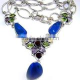 Silver Jewelry Wholesale Necklace Chains Jewellery Findings Trendy Fashion Necklaces