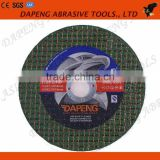 4 inch active Abrasive resin cutting wheel/disc for iron/stainless steel