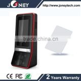 2.8 inch TFT Color Screen & Touch screen Biometric Face recognition time attendance & Access Control