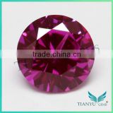 Free Sample 6.5mm 60# Synthetic Red Corundum Ruby