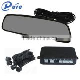 4 sensors rear view mirror led display intelligent parking assist system