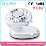Skin Tightening Portable Ultrasonic Body Slimming Massage Machine Cavitation Bipolar Rf Ultrasonic Liposuction Cavitation Fat Removal Photon Radio Frequency RF Therapy For Weight Lose