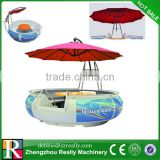 Inquiry about Gather Electric BBQ fiberglass water donut restaurant boat