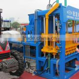 concrete brick making machine,China QT4-15D block machine,hollow and solid and paver brick making machinery