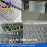 Chinese manufature low carbon iron wire , erosion control gabion baskets