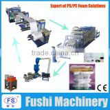 Hot Selling! Disposable plastic fast food container and ceiling making machine