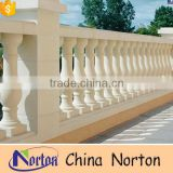 White marble modern outdoor balcony balustrades uk NTMF-MB012Y