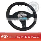 #19540 38cm diameter Genuine Leather Cool Steering wheel cover