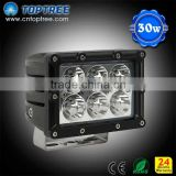 30W 2150Lum Work Pencil Beam Lamp Boat Led Offroad Light Automotive Led Driving Light for Truck 4wd 4x4