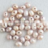 2015 KN#4620 Natural freshwater pearl beads!!! 9-10mm beautiful jewelry beads