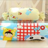 Cartoon summer cotton candy pillow pillow sofa cushion for leaning on can unpick and wash