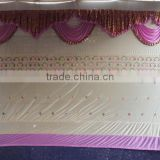 Outdoor Tented Wedding Backdrops And Tent Ceilings Draping