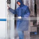 Cold store Storage waterproof Jacket with working winter freezer suit