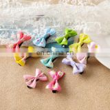 Mini Baby Bows Clip Toddler Pastel Hair Clips With Flower Print Baby Barrettes