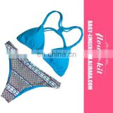 Brazilian Sexy Bikini Set Bandage Swimsuit Micro Mini Thong Swimwear Women Bathing Suit