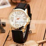 classic wristwatch with Japanese movement/ soft touch silicone quartz watch for decorate