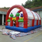 Inflatable bouncer with ten,Inflatable castle,Inflatable jump,Inflatable trampoline, Ourtdoor playground equipment toy