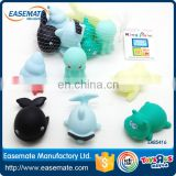 Kids Bath Pool Tub Sea Animals Rubber Whale Floating Toys