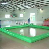 CE inflatable water volleyball court inflatable beach volleyball