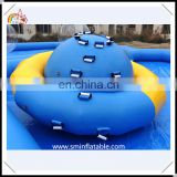 Hot sale inflatable water saturn rocker, inflatable floating water spanner, popular inflatable water games from china supplier