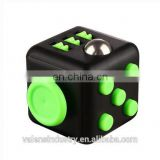 Hot sell 2017 Wholesale Factory Price New Desk toy Anti Stress Fidget Cube Toy