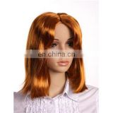 MCW-0366 Party Masquerade synthetic women Hot straight brown wig
