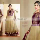 New Designer Traditional Beautiful Party Wear Salwar Kameez Women's Party Long Anarkali Dress R1340
