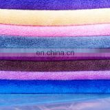 Cheap absorbent and quick-dry microfiber cleaning cloths