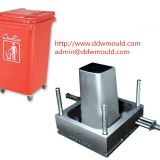 DDW Outdoor  Plastic Trash Bin Mold Injection Trash Bin Mold exported to Mexico