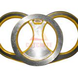 Concrete Pump Spare Parts Schwing Wear Plate and Wear Ring DN150 DN180 DN200 DN230 DN250