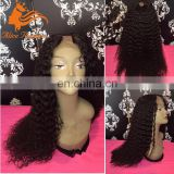 The New Style Upart Wig Remi U Part Wigs For Black Women Deep Curly Virgin Peruvian Hair Natural WigFor Sale