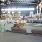 UPVC windows making machine / Double head mitre cutting saw