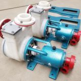 PF corrosion resistant plastic chemical transfer pump