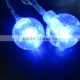 cotton ball light string christmas decor christmas decorations made in china