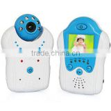 2.4GHz 1.5inch TFT LCD wireless baby monitor with flower