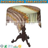 sublimation faux fur oriental PVC printed flower tablecloth for restaurant                                                                         Quality Choice