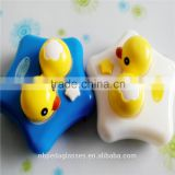cute duck vibrating contact lens cleaning case