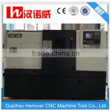 TSC36L Top Quality Mini Metal CNC Lathe Machine China with 6'' hydraulic chuck 56mm spindle bore 8 station tool turret 5000rpm