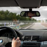 New design HUD A8 car hud head up display 5.5 large screen Over Speed Warning