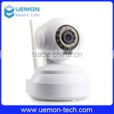 720P HD indoor pan/tilt wifi wireless ip camera, wifi baby monitor, nanny camera, P2P, WPS, IR-cut, alarm, micro-SD storage