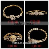 Fashion Bracelet Type 24k Gold Plated Copper Mens Bracelet Wholesale Energy Bracelet Alibaba Express Italy