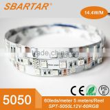 LED Strip Light 5M 5050 3528 SMD RGB Flexible Ribbon Tape Roll Waterproof IP65